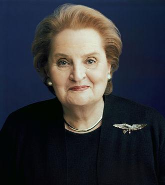 Madeleine Albright - Image: Secalbright