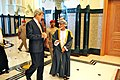 Secretary Kerry Walks With Omani Qaboos bin Said Al Said.jpg