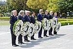 Secretary Kerry and His G7 Counterparts Prepare to Lay Wreaths at the Hiroshima Peace Memorial Park (26363140655).jpg