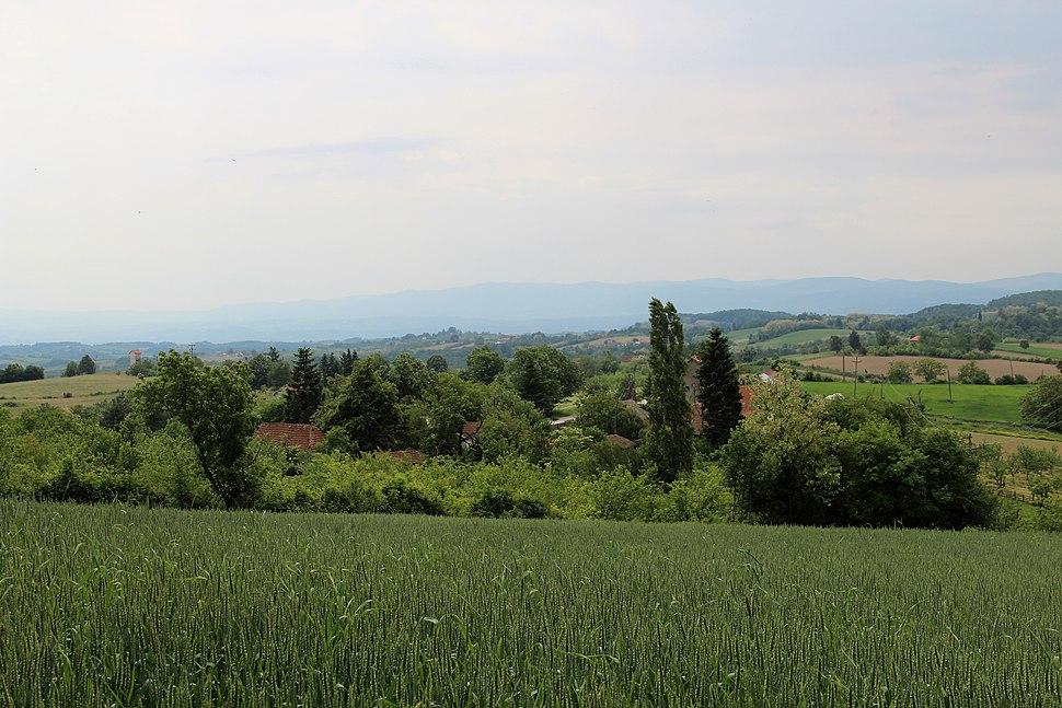 Selo Rabas - opština Valjevo - zapadna Srbija - Panorama 6