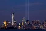September 11th Tribute in Light from Bayonne, New Jersey.jpg