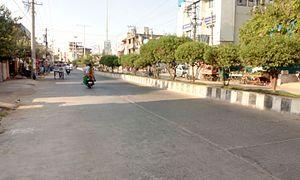Kadapa - A 4 Lane Service road, NGO Colony Kadapa