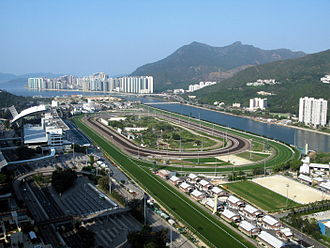 Daliapour - Sha Tin racecourse, where Daliapour won the 2000 Hong Kong Vase