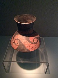Shanxi Museum - a painted pottery jar.JPG