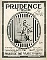 Sheet music cover - PRUDENCE- ENTR'ACTE (1916).jpg