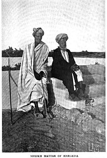 Sheikh Madar 19th century Somali Sufi leader instrumental in the expansion of Hargeisa