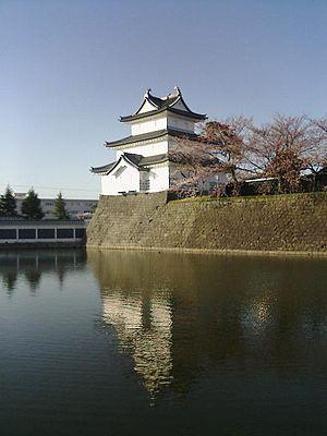 Shibata Castle - Image: Shibatajo 004