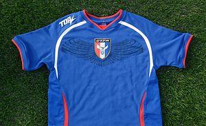 Chinese Taipei women's national football team - Home shirt 2015
