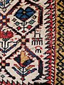 Shirvan wool prayer carpet 1850-1900 detail comb.jpg
