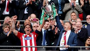 Sholing F.C. - Sholing won the FA Vase in 2014.