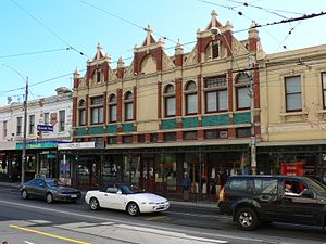 Cremorne, Victoria - Commercial shopfronts along Church Street