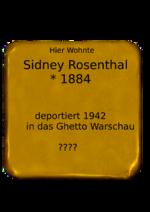 Sidney Rosenthal