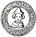 Siegel Bischof Gottfried I von Bülow ab 1298.jpg