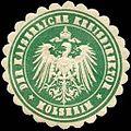Siegelmarke Der Kaiserliche Kreisdirektor - Molsheim W0234603.jpg