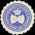 Siegelmarke Diensth. Kammerherr Ihrer Hoheit der Fürstin zu Schaumburg-Lippe W0350358.jpg