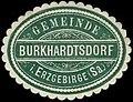 Siegelmarke Gemeinde Burkhardtsdorf im Erzgebirge (Sachsen) W0253690.jpg