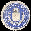 Siegelmarke Grossherzogliches Hofstall-Amt W0255847.jpg