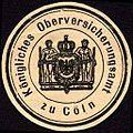 Siegelmarke Königliches Oberversicherungsamt zu Cöln W0227844.jpg