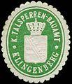 Siegelmarke K. Talsperren-Bauamt-Klingenberg W0253893.jpg