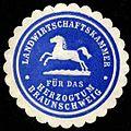 Siegelmarke Landwirtschaftskammer für das Herzogtum Braunschweig W0301638.jpg
