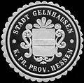 Siegelmarke Stadt Gelnhausen K.Pr. Provinz Hessen W0313412.jpg