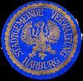 Siegelmarke Stadtgemeinde Verwaltung Harburg W0312887.jpg