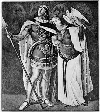 Nibelungenlied - Siegfried and Kriemhild