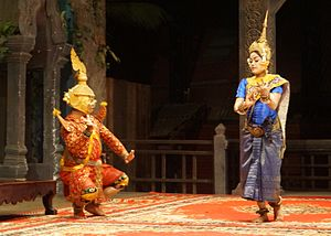 Dance in Cambodia - Image: Siem Reap Dance of Cambodia (13)