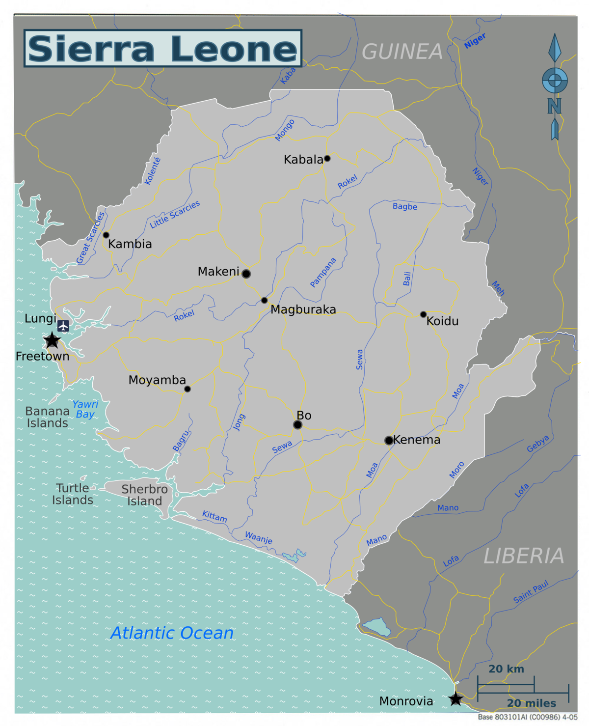 Sierra Leone Travel guide at Wikivoyage