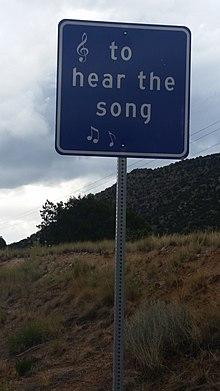 Musical road - Wikipedia