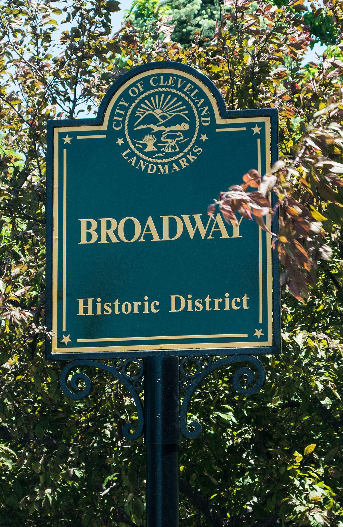 Broadway Avenue Historic District (Cleveland, Ohio) - Wikipedia