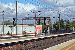 Signalling, Wigan North Western railway station (geograph 4499985).jpg