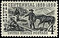 Silver Centennial stamp 4c 1959 issue.JPG