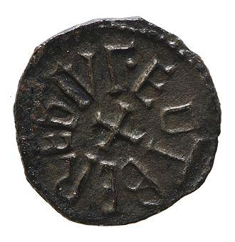 Eadberht of Northumbria - Silver sceatta of Eadberht