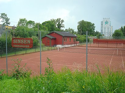 How to get to Sinsen (T) with public transit - About the place