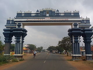 Sivaganga Town in Tamil Nadu, India