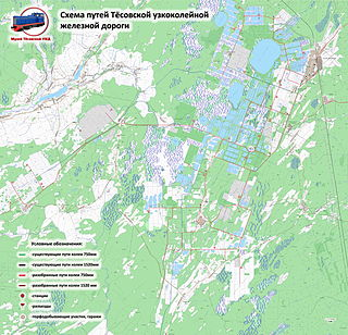 Tyosovo peat railway