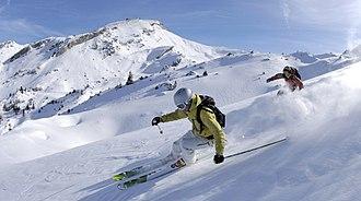 Skiing - Alpine skiers