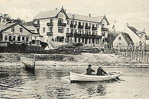 Skovshoved - Skovshoved Beach Hotel in c. 1908