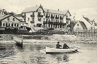 Skovshoved - Skovshoved Beach Hotel in c. 1908