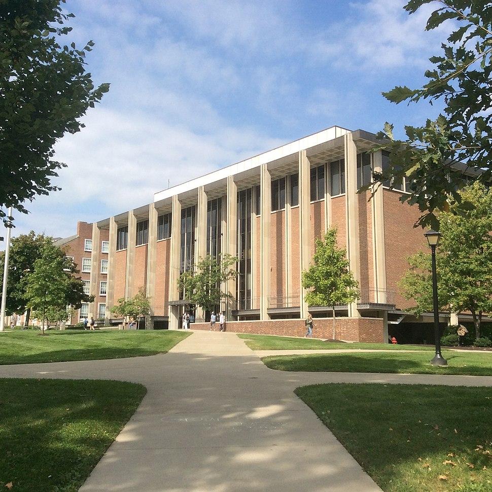 Slayter Hall Student Union (1962), Denison University, Granville, Ohio