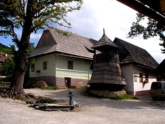 Ružomberok - Vlkolínec village