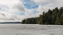 Smoke Lake, Algonquin Provincial Park, North view 20170421 1.jpg