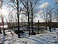 Snö i Eriksberg, Göteborg Jan 2012, Vatten - panoramio.jpg