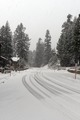 Snow covered road, Mammoth Lakes, California LCCN2013633668.tif