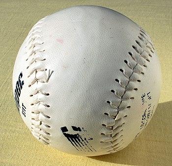 A softball.