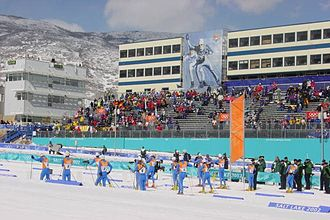 Cross-country skiing at the 2002 Winter Olympics - Olympic Cross-country skiing athletes compete at Soldier Hollow