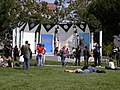 Some Native American protest at the Yerba Buena Gardens (247075819).jpg