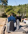 Sonoma Mountain Zen Center - 06 - Kyudo monks arrive.jpg