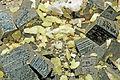 Soufre, pyrite et calcite (Santa-Eulalia, Mun. de Aquiles Serdán, Chihuahua - Mexico).jpg